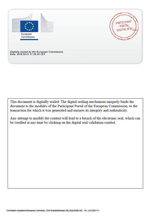 anexo Certificado Europeo BrecanRisk